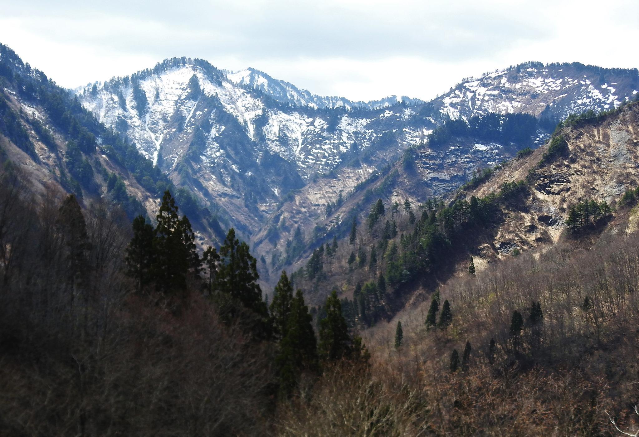 ☆談合峰の北側岩場(谷地川源流部)