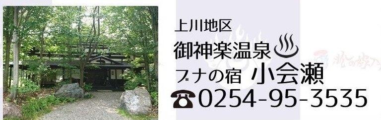 阿賀町御神楽温泉小会瀬