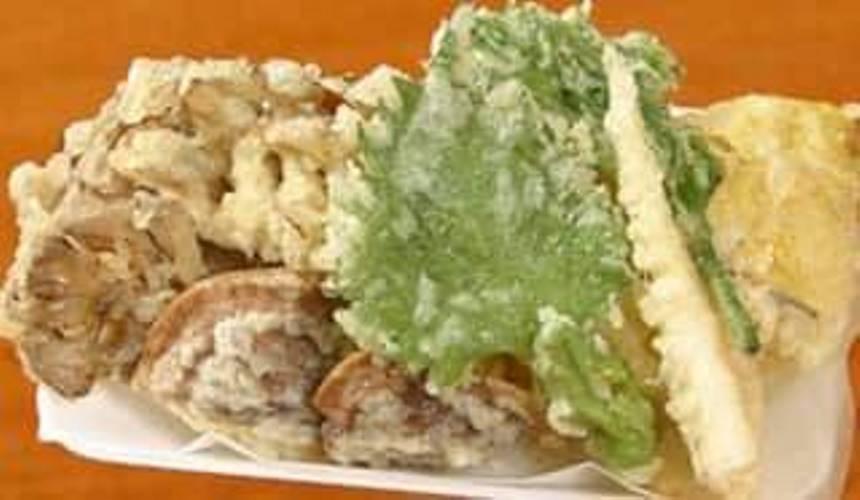 きのこの天ぷら盛り合わせ