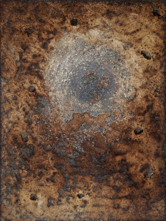 ohne Titel, 2007, Mischtechnik auf Leinwand, 40 x 30 cm