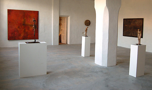 "Amador Vallina: solo exhibition ""RETROperSPECTIVA"", Can Puig, Gallery, Sóller, Majorca"