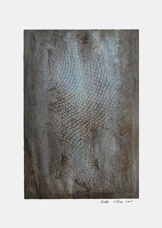 ohne Titel, 2007 Mischtechnik auf Papier, 45 x 32 cm [ID 20070006]