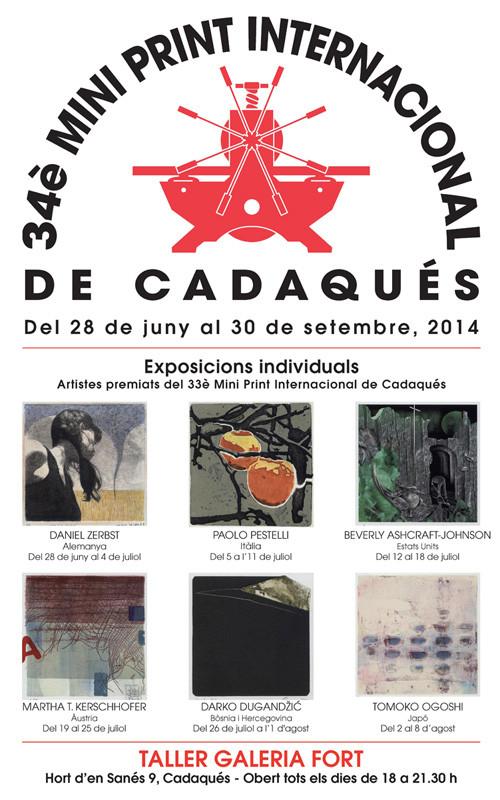 34. Mini Print Internacional de Cadaqués, Spanien