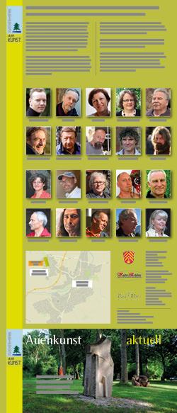 Massenheimer Auenkunst 2018/2019 – Flyer Seite 1