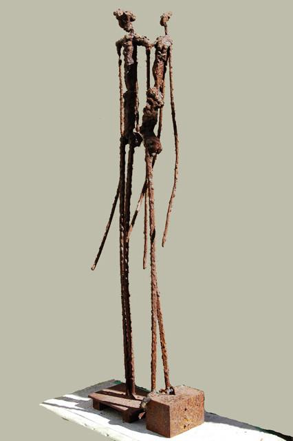 Skulptur amador vallina spanische kunst arte espa ol - Esculturas de madera abstractas ...