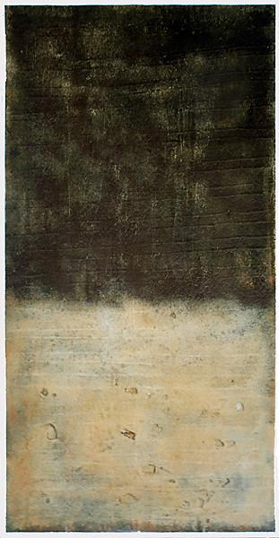 Amador Vallina: El principio del fin, 2003, 230 x 120 cm