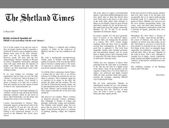 2003 Shetland Times