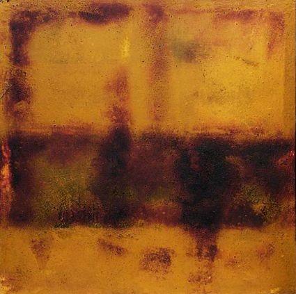 ohne Titel, 1998, 155 x 155 cm, auf Leinwand