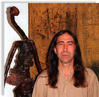 Pintura y Escultura de Amador Vallina en Cas Concos