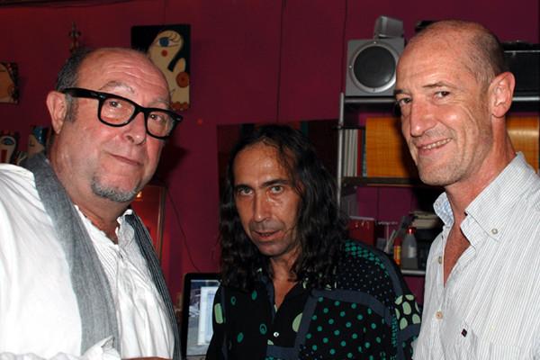 Juan Carlos Tajes, Amador Vallina, Carlos Tellechea