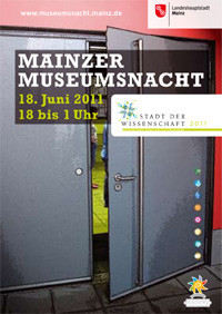 Plakat der Mainzer Museumsnacht 2011