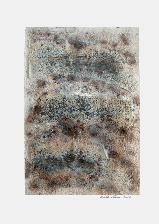 ohne Titel, 2007 Mischtechnik auf Papier, 45 x 32 cm [ID 20070008]