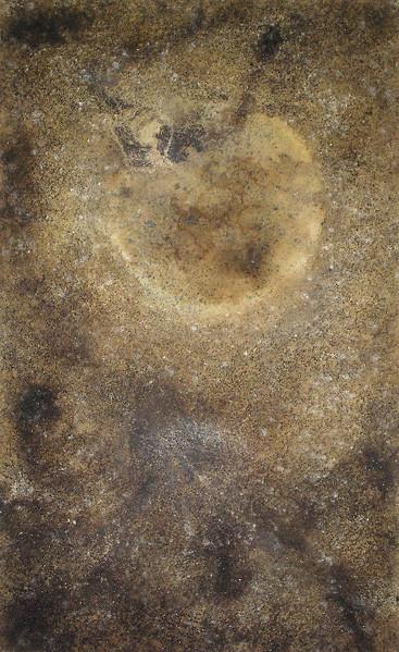 Amador Vallina: Luna Marrón | Malerei - Pintura - Painting