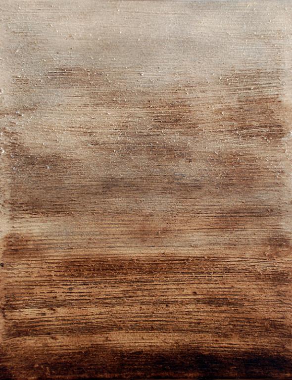 ohne Titel, 2008, Mischtechnik auf Leinwand, 117 x 90 cm
