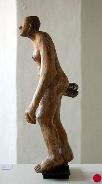 Petanquera, 2003, 47x19x18 cm - VERKAUFT