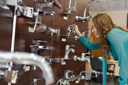 Plumbing brands Kohler, Moen and Delta