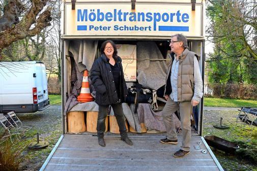 Julia Wolters und Michael Zimmermann kurz vor ihrem Abschied aus Blankensee. Quelle:Margit Hahn