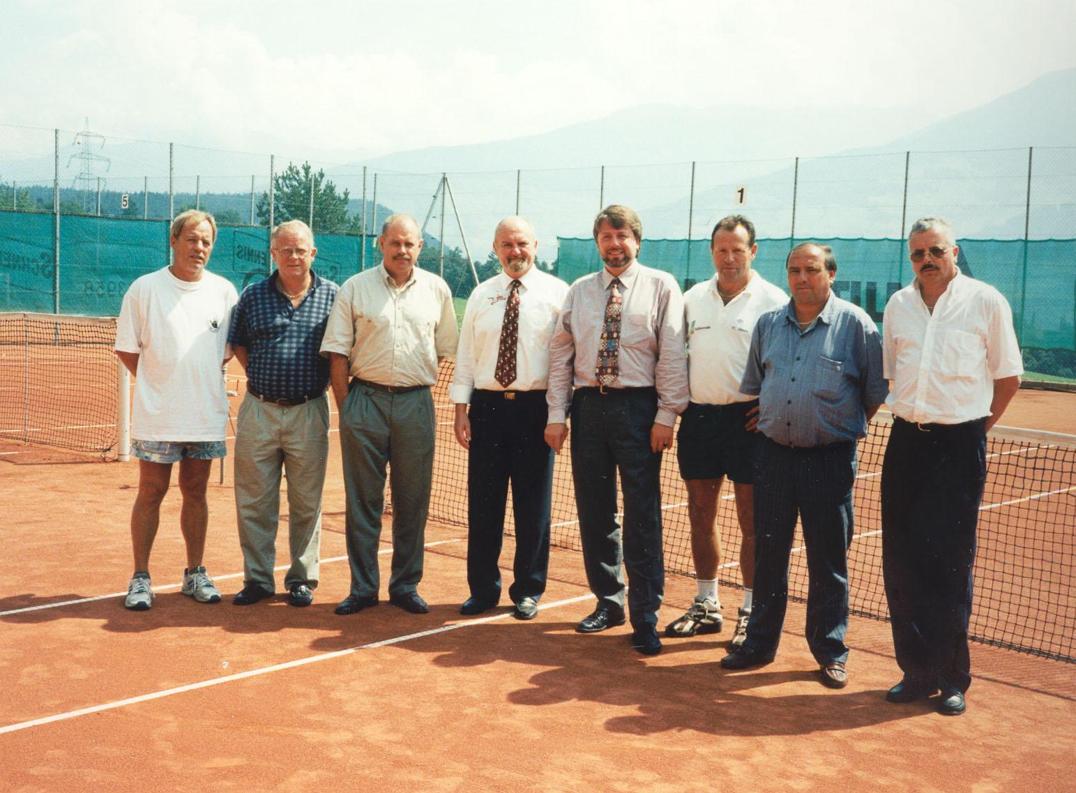 Der Vorstand vor 20 Jahren