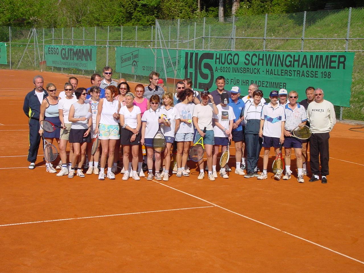 TCA-Mitglieder nach einem Turnier