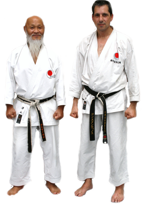 Hideo Ochi und Kosta Tsesmeles