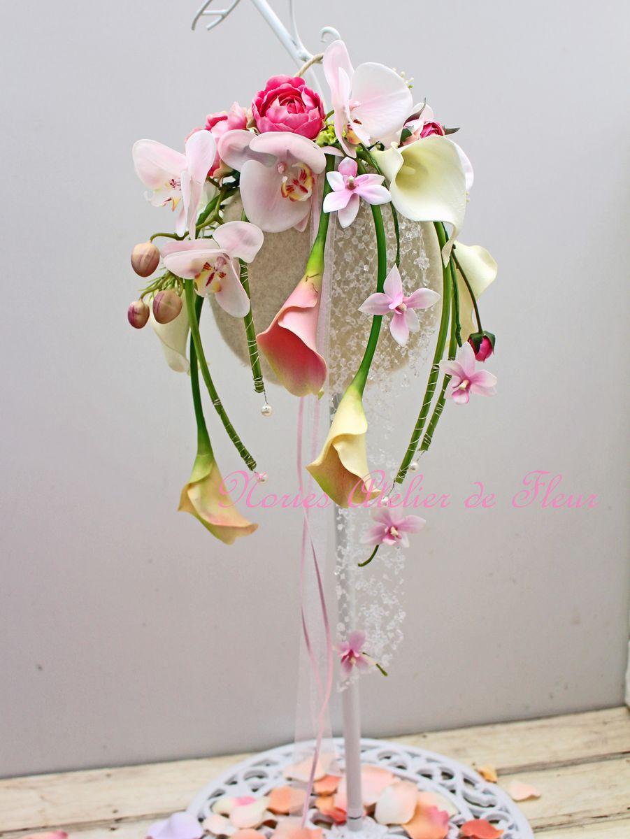 Calla カーラ アーティフィシャルフラワーのバッグ型ブーケ
