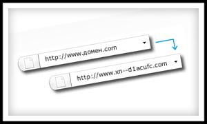 Punycode домены