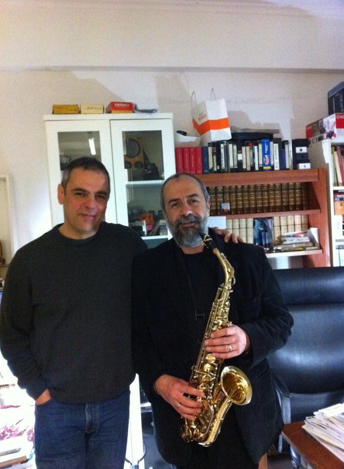 Con Paolo Farinelli a studiare Sax 2013