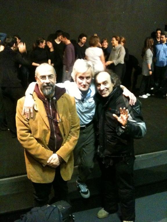 Febbario 2011, Stage di César Corrales al Teatro Agorà