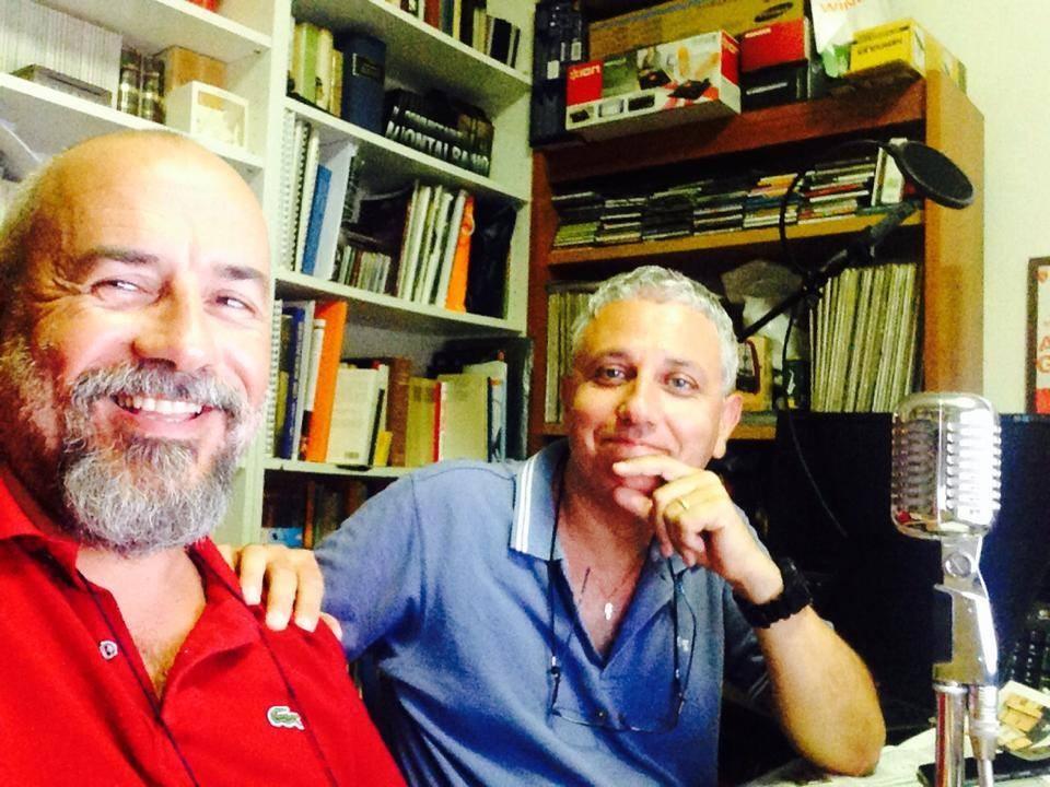 Con Federico Tantillo a Radio Palcoscenico Agosto 2014