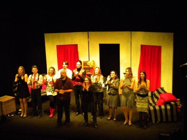 """Ottobre 2009, """"La Camera del Silenzio al Teatro Agorà"""