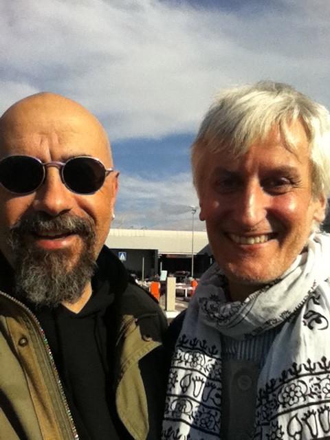 Aprile 2011, con Cesar Corrales