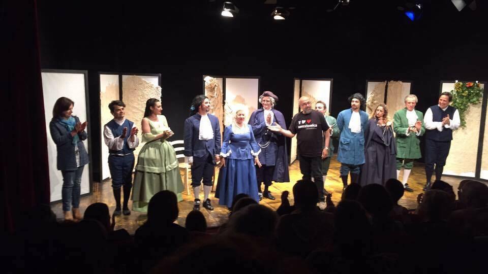 "Maggio 2016, Teatro Arvalia ""La bottega del caffè"""