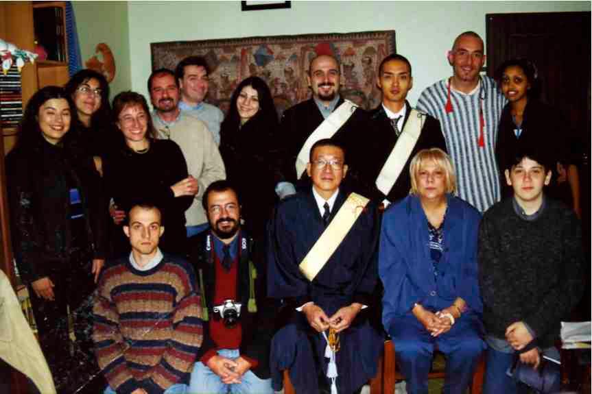 Novembre 2000 a Firenze con i Monaci HBS