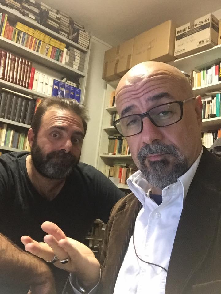 Ottobre 2016 con Andrea Cotrone a Radio Palcoscenico