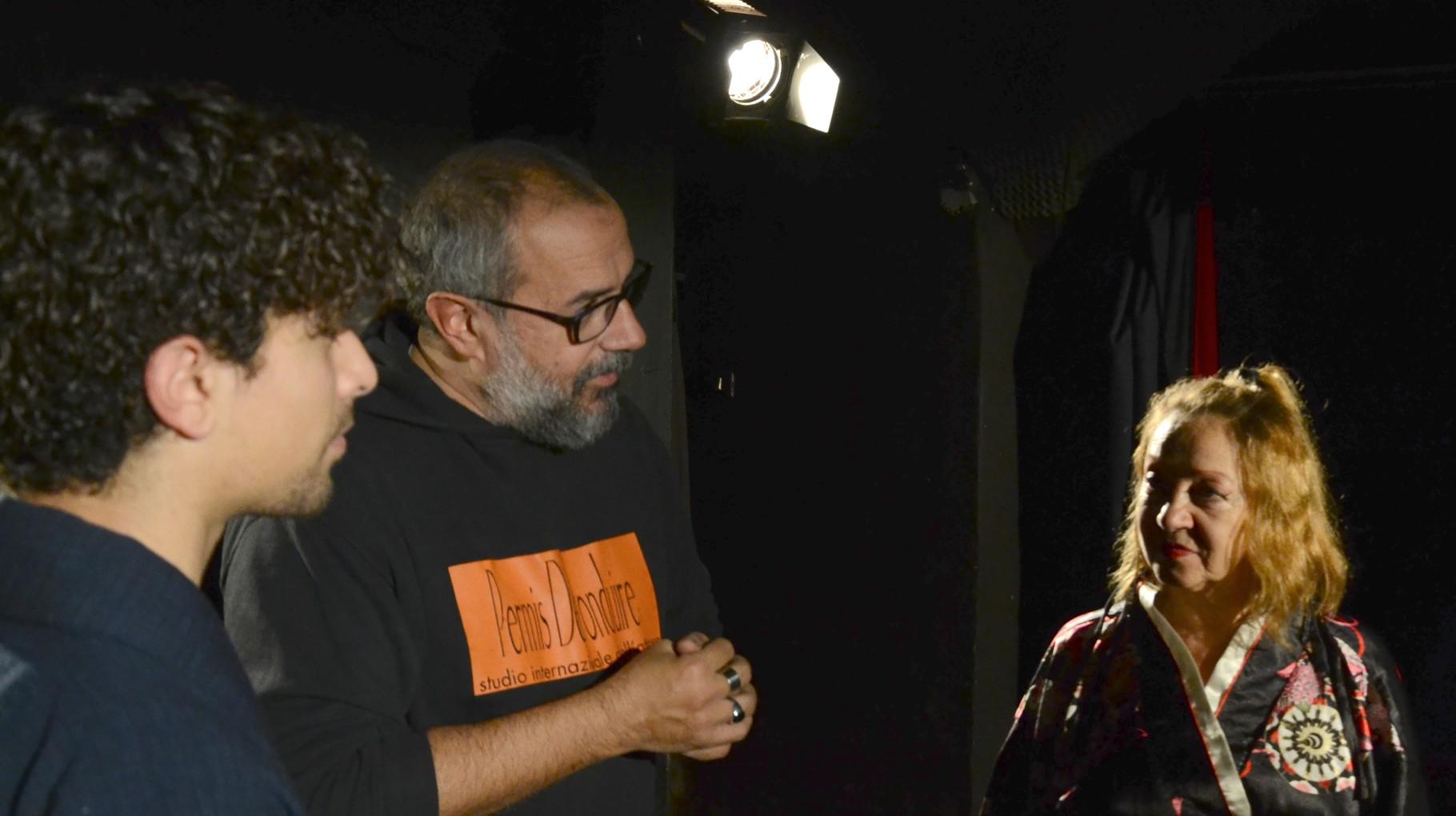 """Sul Set de """"La Signora di Rokujo"""", Teatro Elettra Novembre 2015"""