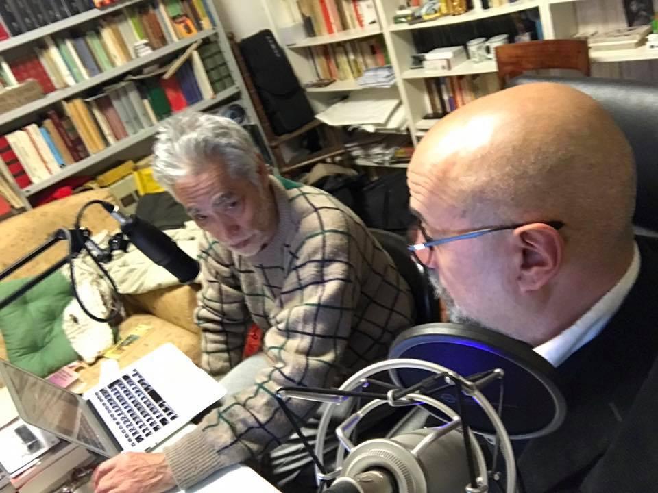 Maggio 2017 con Hal Yamanouchi a Radio Palcoscenico