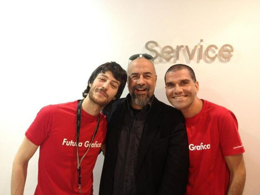 Con gli angeli custodi della Apple 2013