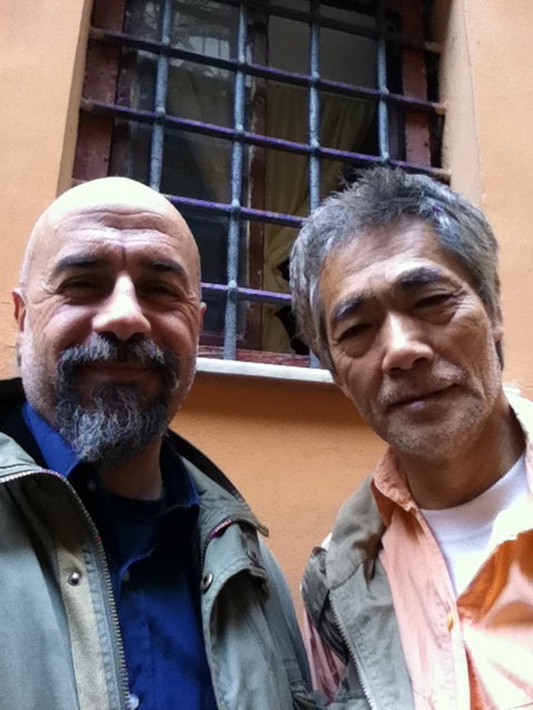 Maggio 2011, con Hal Yamanouchi