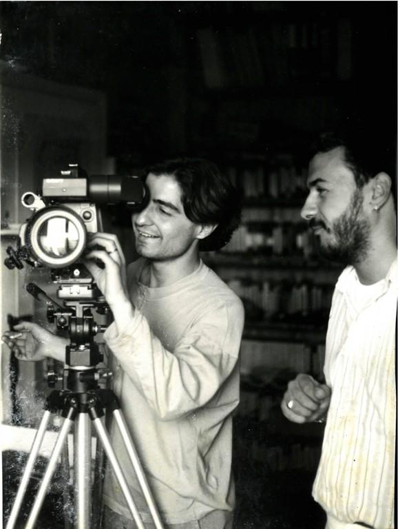 """Maggio 1990, sul Set di """"Cartolina d'Amore"""" con l'Operatore"""