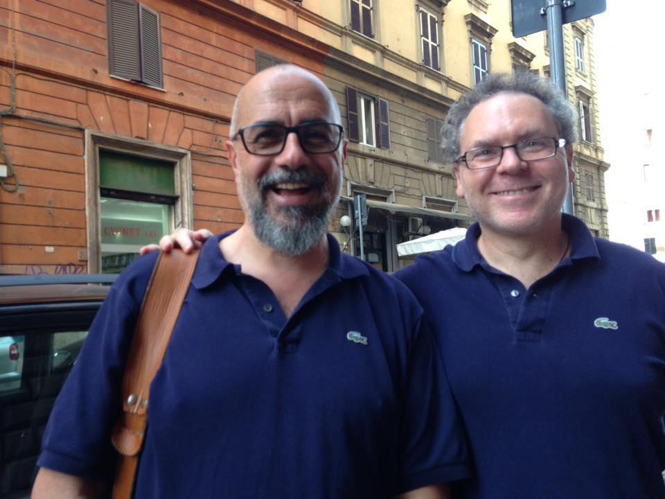 Giugno 2016, con Andrea Marcelloni alla Libreria Pagina2