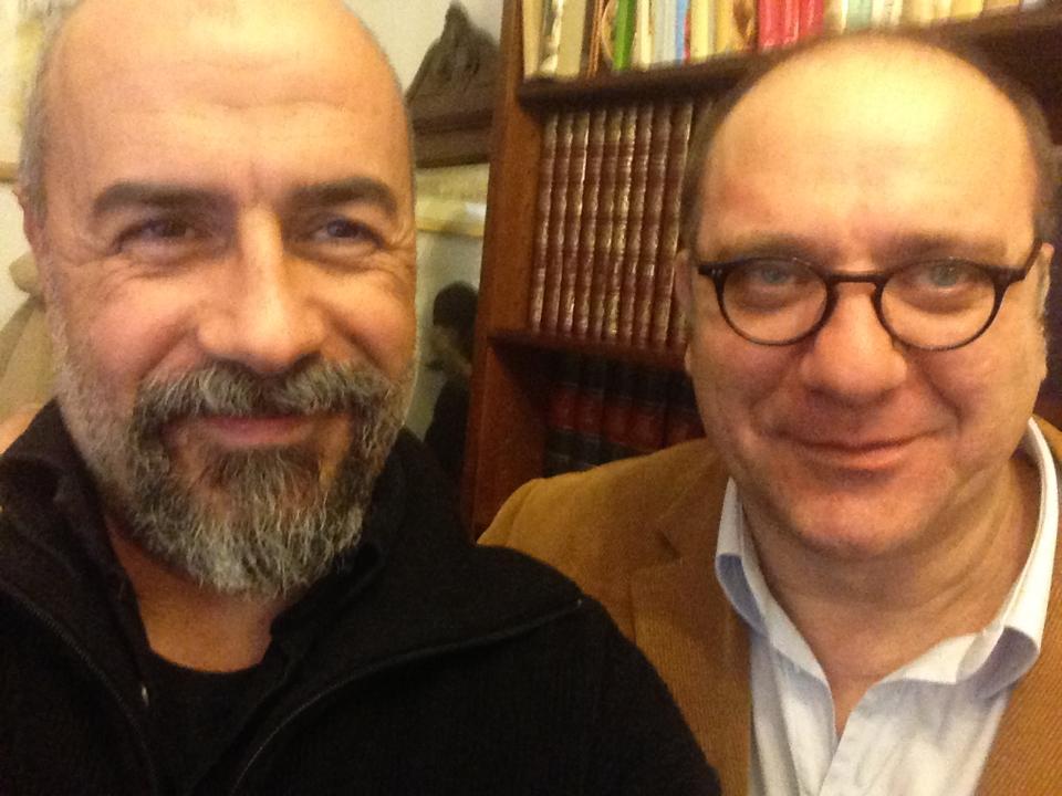 Gennaio 2013, con Luigi Di Fiore