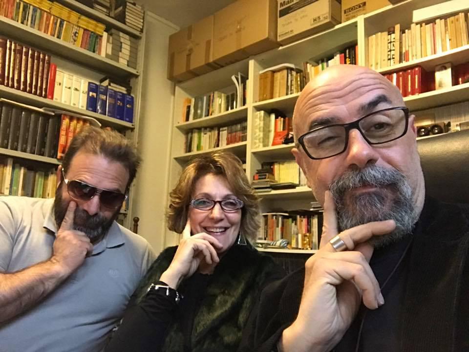 Aprile 2017 con Antonella Antonelli ed Andrea Cotrone a Radio Palcoscenico