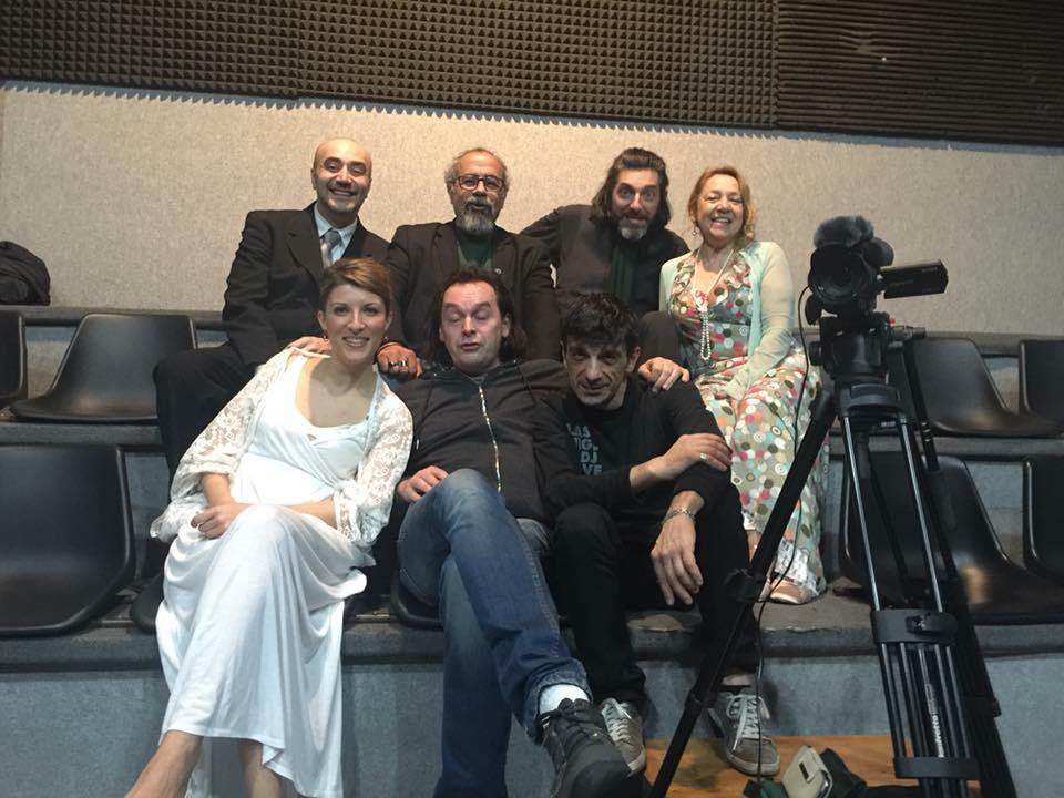 Marzo 2016, Teatro Agorà con il Cast della serata Renard