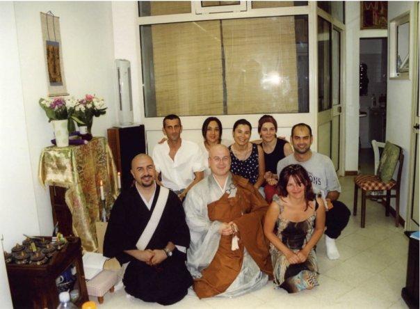 Giugno 2002, versione monaco Buddhista