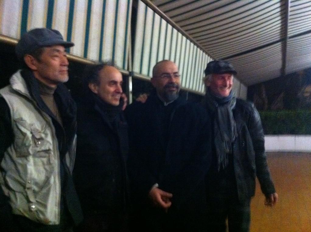 """Marzo 2011, dopo """"Utopia"""" di Cesar Corrales al Teatro Agorà"""