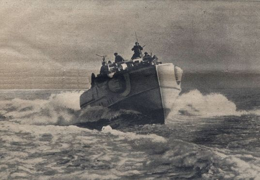 S-Boote auf Angriffskurs - Foto: PK-Aufnahme
