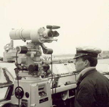 Torpedozielsäule mit Rohrzielapparat RZA 5 b - Foto: Archiv Förderverein