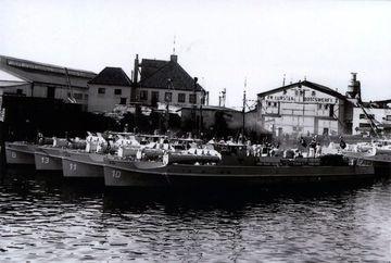 S-Boote im Bauhafen - Bild: Lürssen