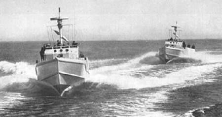 S-Boote Typ S 149 im Kielwasser - Bild: Archiv Förderverein