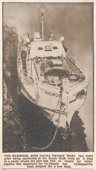 Zeitungsausschitt aus dem Jahre 1946